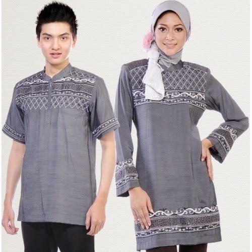 Model Baju Muslim Couple Terbaru Untuk Suami Istri