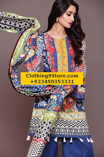 Sapphire Winter Unstitched Collection 2016-2017 Vol-2