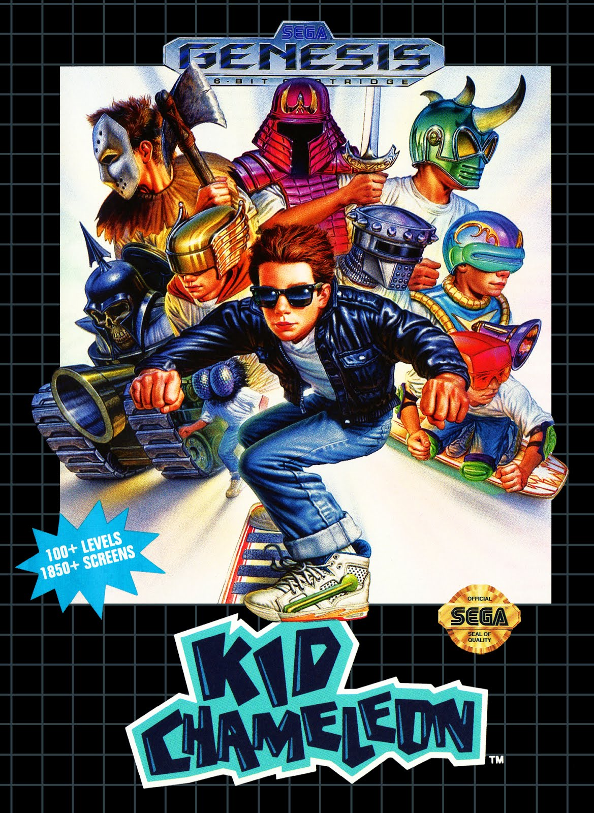 Kid Chameleon (video game) - Download Sega Genesis Roms Online For