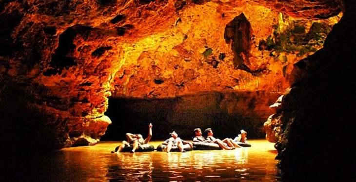 Gambar foto wisata alam di goa pindul jogjakarta