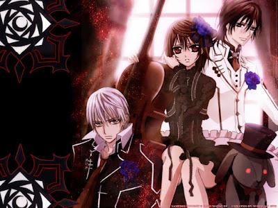 جميع حلقات انمي Vampire Knight الموسم الاول والثاني مترجم عدة روابط