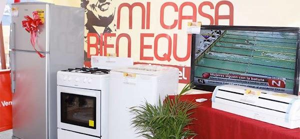 300 familias de Puerto Ordaz recibieron electrodomésticos a través de Mi Casa Bien Equipada