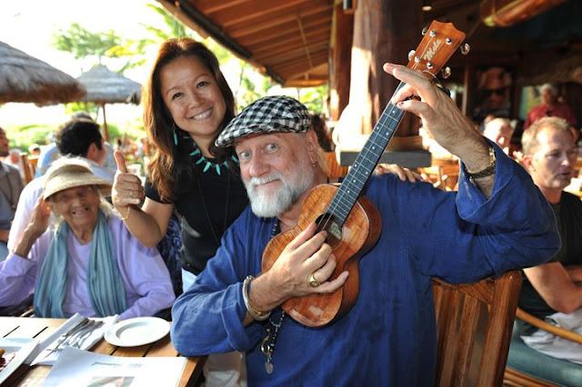 mick fleetwood ukulele