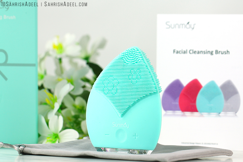 Do Facial Cleansing Brushes Work? | Cleansing Face Brush in Tiffany Blue by Sunmay - Review