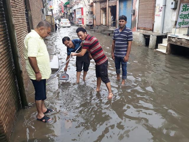 NIT Legislative Assembly is bad in the rain; Former Senior Deputy Mayor Mukesh Sharma