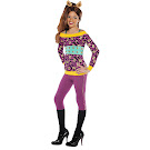 Monster High Party City Clawdeen Wolf Outfit Child Costume