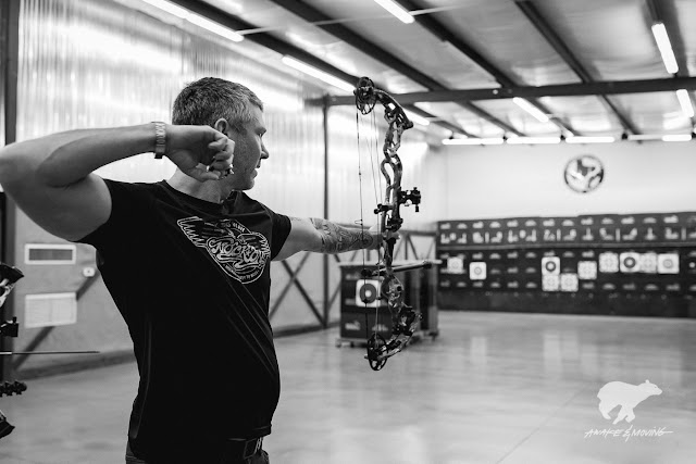 World Champion and archery guru, John Dudley.