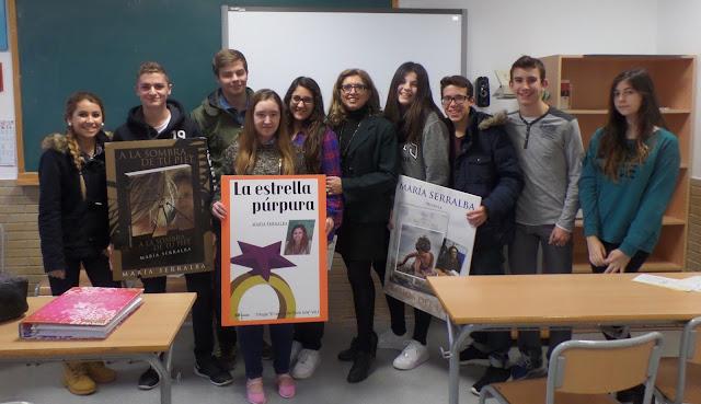 El Blog de María Serralba - Master Class Colegio S.Alberto Magno