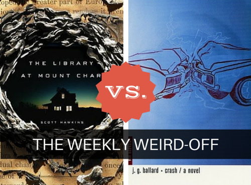 The Weekly Weird-off: The Library at Mount Char vs. Crash. Which book is weirder?