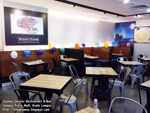 Sydney Oyster Restaurant & Bar @ Sunway Putra Mall