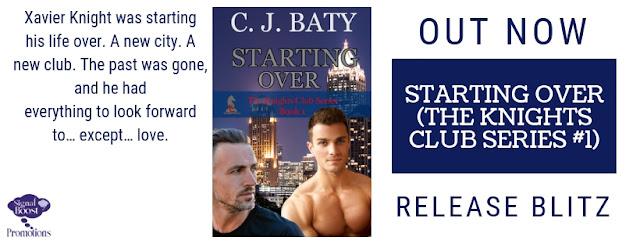 Release Blitz - C.J. Baty - Starting Over