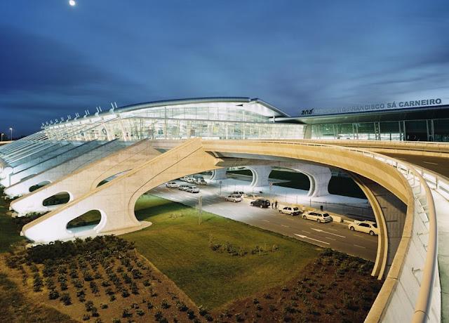 Aeroporto Francisco Sá Carneiro melhor Europa Porto Portugal Viagem