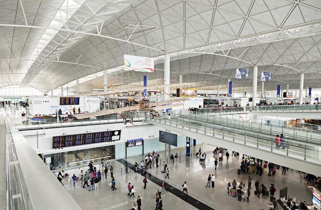 Chiny Lotnisko w Hong Kongu