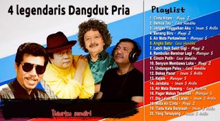 Download Lagu Mp3 Terbaik 4 Penyanyi Legendaris Dangdut Pria Terbaik - Lagu Paling Enak Dinyanyikan Saat Karaoke (HQ Audio) Lengkap