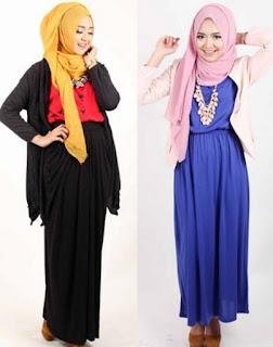 Busana muslim remaja gaul dan modis