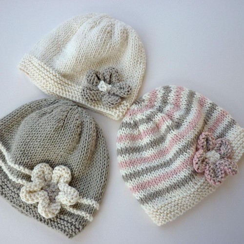 Emilie Baby Hat - Knitting Pattern