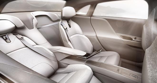 Lucid Air rear seating