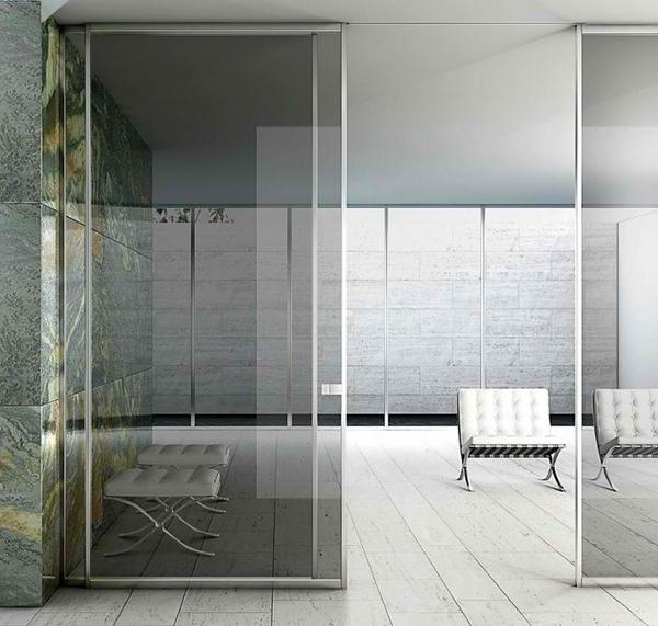 Pintu geser minimalis tinggi