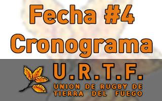 [URTF] Horarios y Jueces: 1ra División - Fecha #4