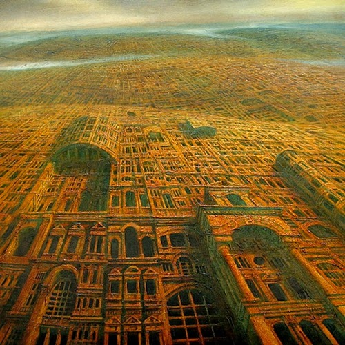 02-Teluropolis-Marcin-Kołpanowicz-Painting-Architecture-in-Surreal-Worlds-www-designstack-co