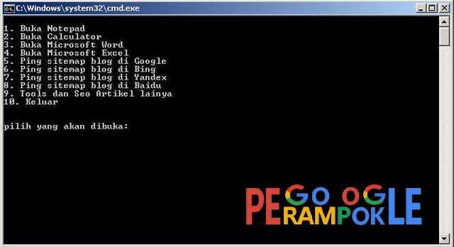 Tools ping sitemap blog perampokgoogle gratis