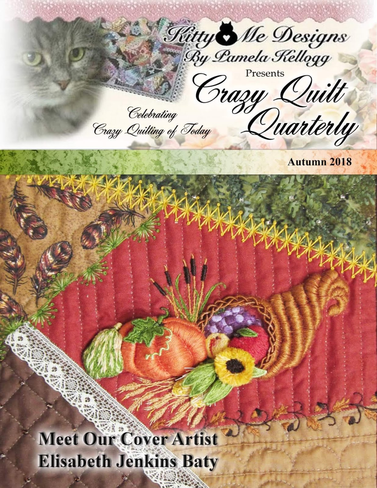 Crazy Quilt Quarterly Autum 2018