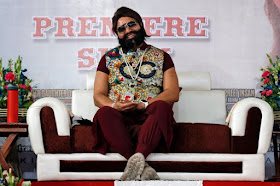 Ram Rahim Singh, seen in a May file photo, was convicted of raping two followers, prompting the violent protest.