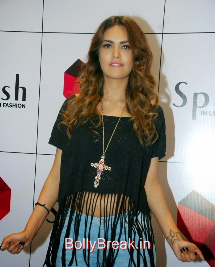 Esha Gupta, Esha Gupta Hot Pics At  Launch Of New Splash Store In Mumbai