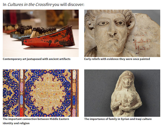 'Cultures in the Crossfire: Stories from Syria and Iraq' at the Penn Museum in Philadelphia, PA