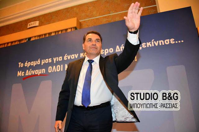 Βόμβα: Εκτός Νέας Δημοκρατίας ο Δημαρχος Άργους Μυκηνών Δημήτρης Καμπόσος