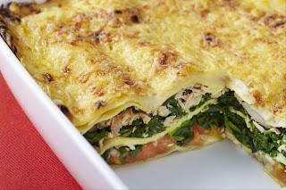 Recette de Lasagne de thon et épinards