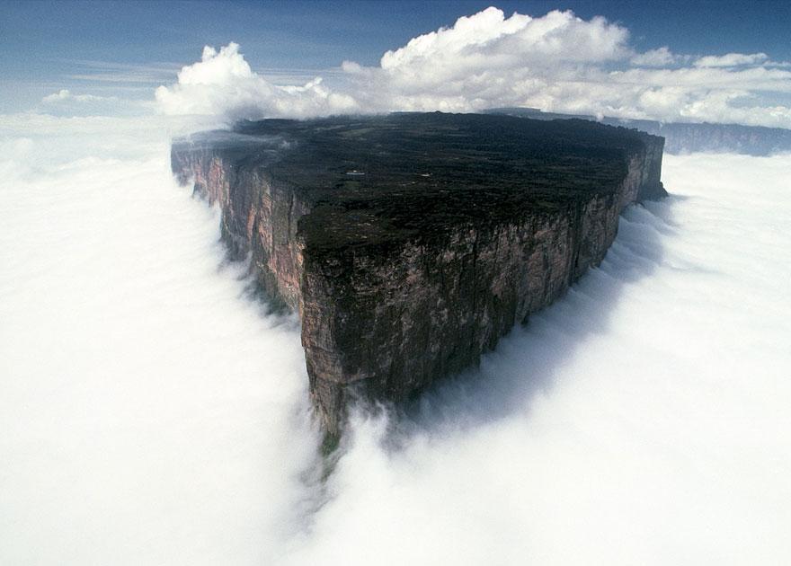 Venezuela,Brazil,Guyana, Mount Roraima