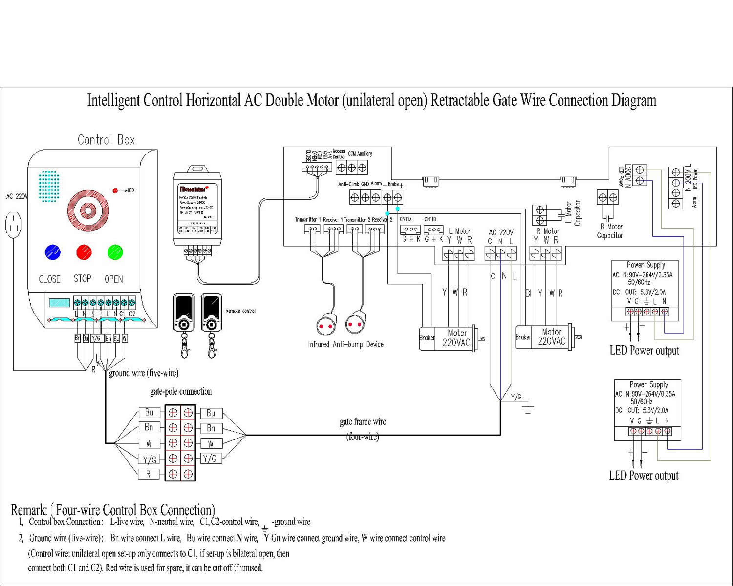 Wiring Diagram Of Motor True Refrigeration Ac Diagrams Kit Picture