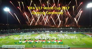 Fifa 2017 opening ceremoney