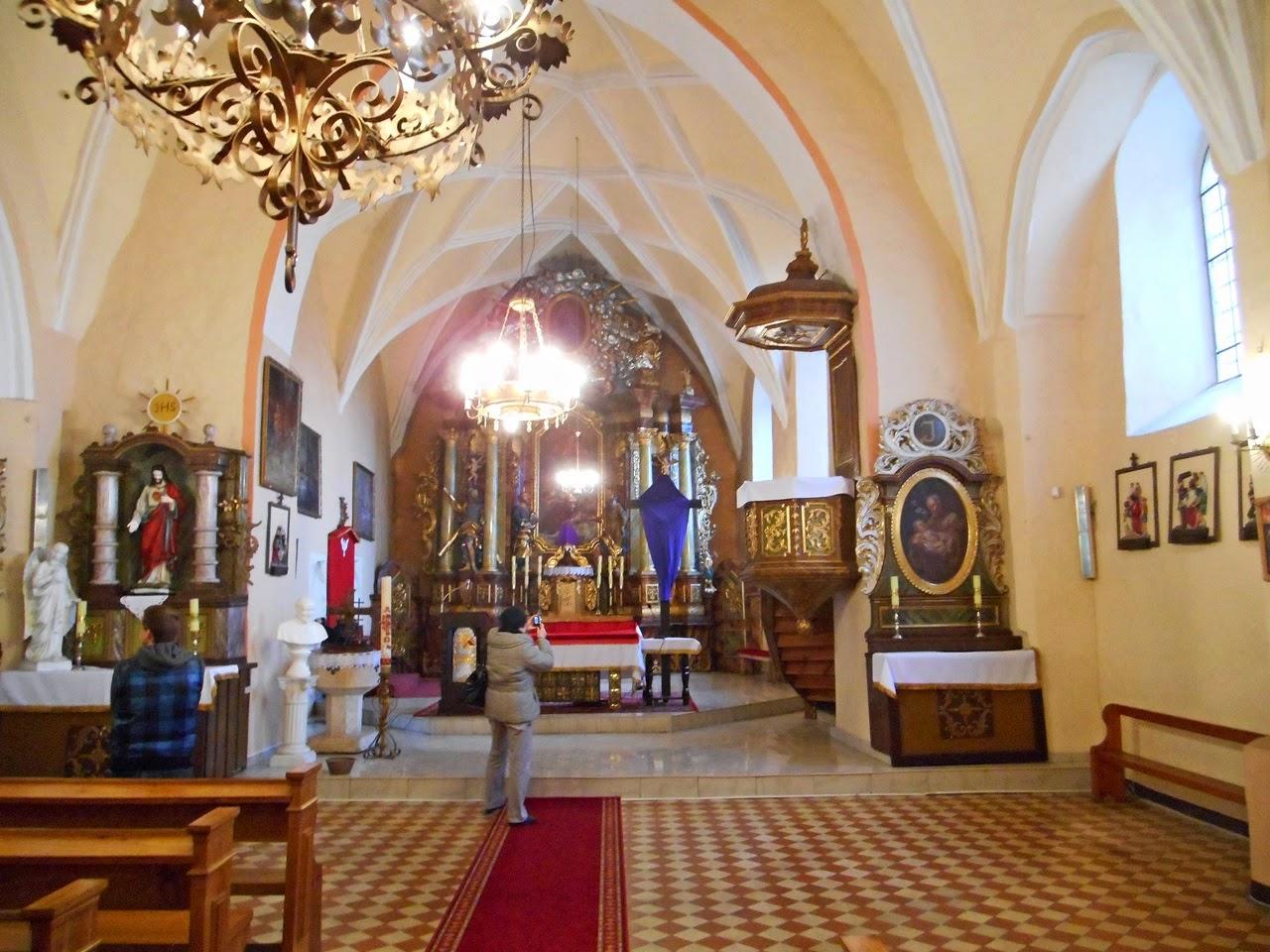 ołtarze, świątynia, zabytek, religia