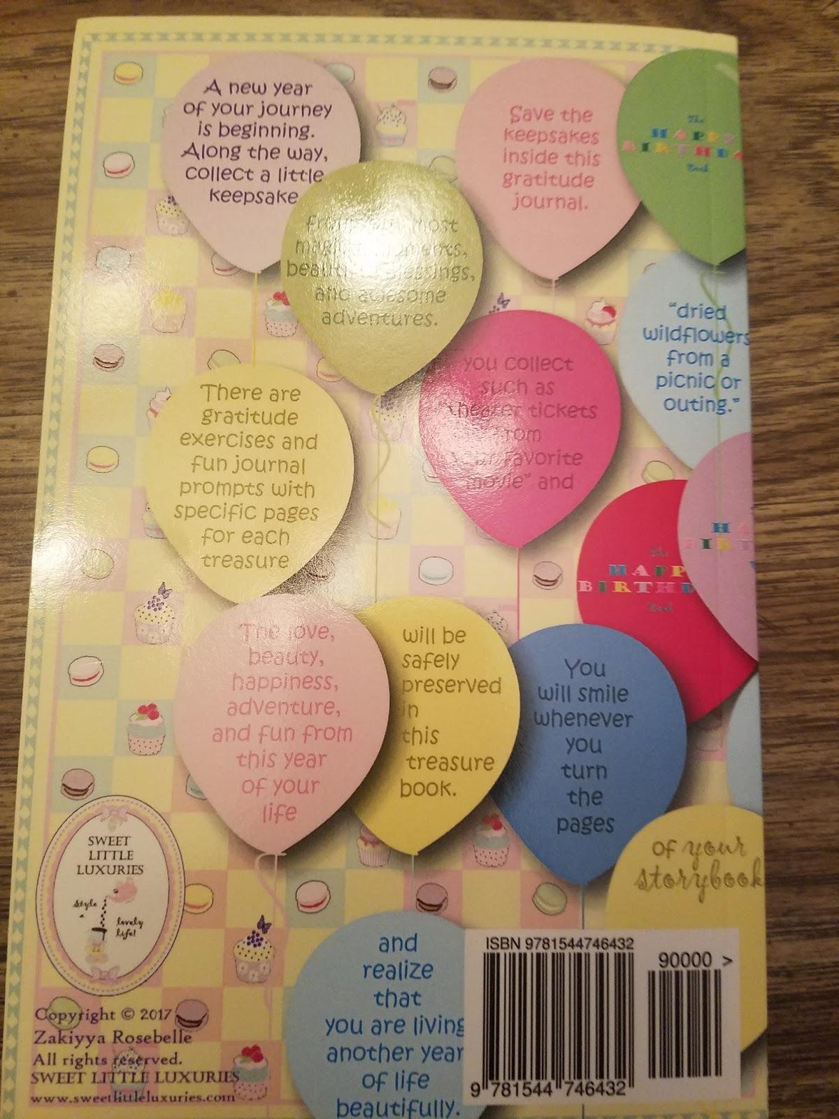 Rosebelle's Gratitude Journals #MBPHGG17 - Mommy's Block Party