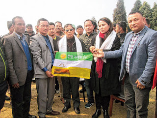 GOC Phippon joins Morcha in Kalimpong