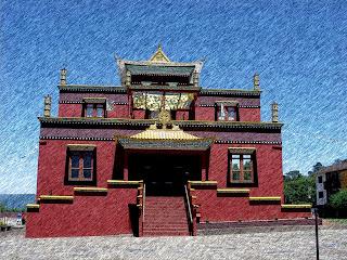 Centro Budista Khadro Ling, em Três Coroas
