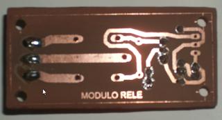 Kit módulo de Relé circuito impreso.