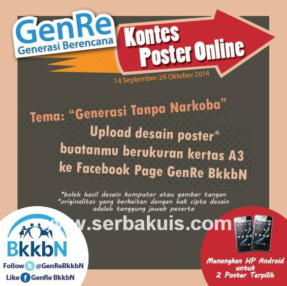 Kontes Poster Online Berhadiah 2 Smartphone Android