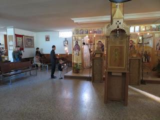 "Parohia ""Sfantul Cuvios Ioan Casian"" Guadalajara-Spania, Sfanta Liturghie"