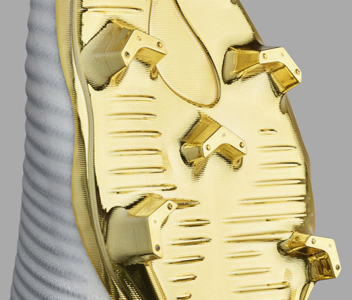 Nike botas fútbol Mercurial Superfly CR7 Vitòrias edición limitada cuarto Balón Oro