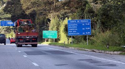 Pesquisa da ANTT mostra que 58% dos motoristas estão insatisfeitos com as condições da BR-040
