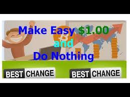 شرح موقع bestchange لربح 1 دولار بطريقة سهلة الذي يدفع لك من 0.04$ الى 0.09$ على كل زيارة لرابطك مع اثبات الدفع