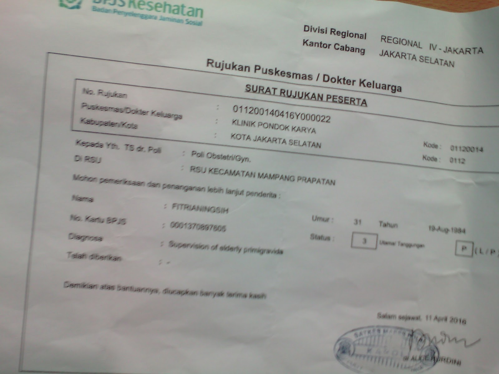 Code Diagnosa Penyakit Bpjs Mialgia