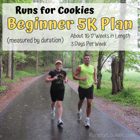5K Training Plan 16-17 Weeks 3 Day per Week