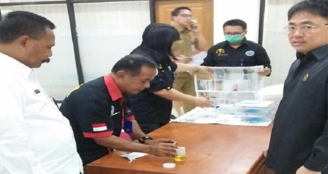 Pemberian label negatif atas tes urine Ketua DPRD Sulut
