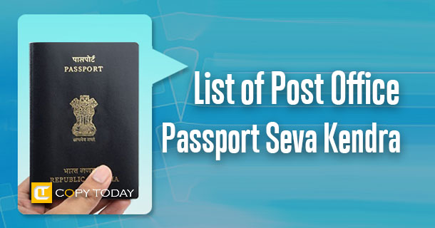 List of post office passport seva kendra in pilot phase copy today apply for their passports on line through the passport portal will be able to schedule an appointment at the above popsk to complete the formalities ccuart Choice Image
