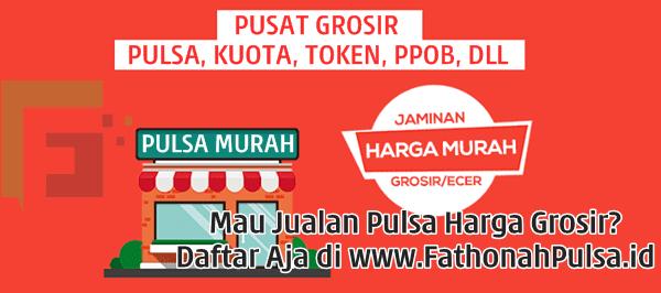 FathonahPulsa.id Grosir Pulsa Elektrik Semua Operator Termurah Bogor Depok Jawa Barat