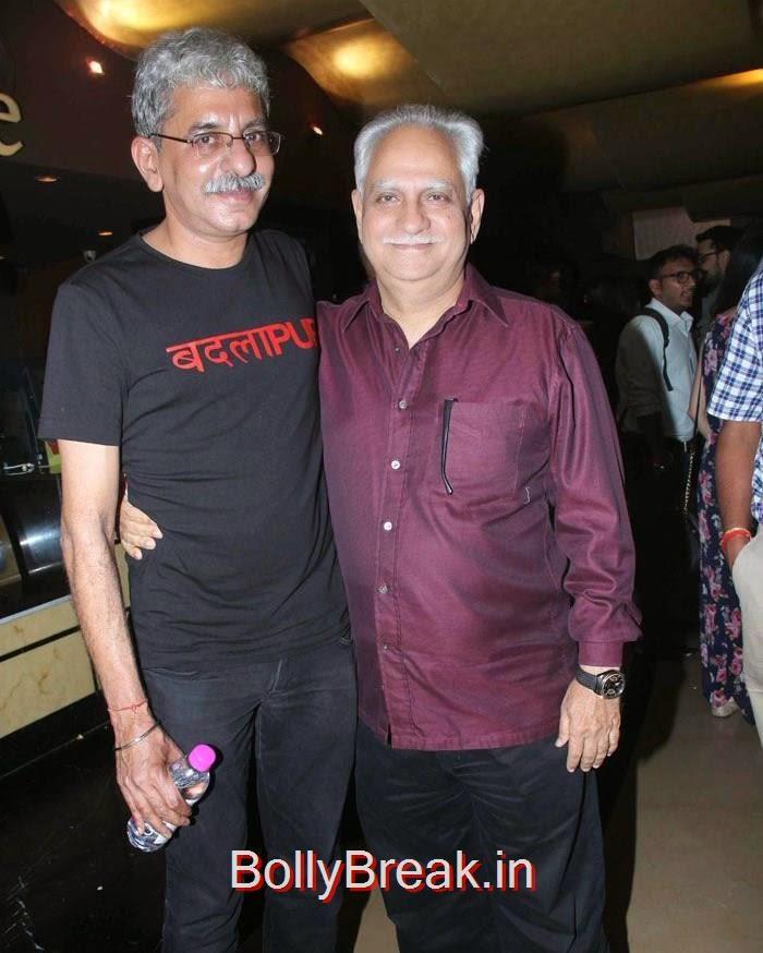 Sriram Raghavan, Ramesh Sippy, Hot Images OF Manasvi Mamgai, Huma Qureshi, Sonakshi Sinha At  'Badlapur' Special Screening